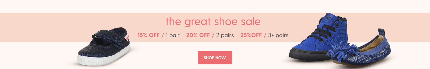 great shoe sale