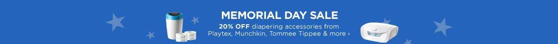 Memorial Day Sale- Diapering Accessories