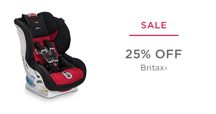 SALE - 25% off Britax