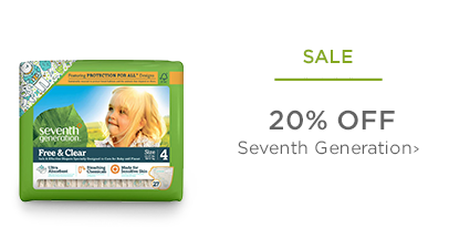 SALE - 20% Off Seventh Generation
