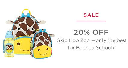 SALE - 20% Off Skip Hop Zoo