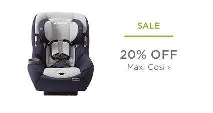 SALE - 20% Off Maxi-Cosi