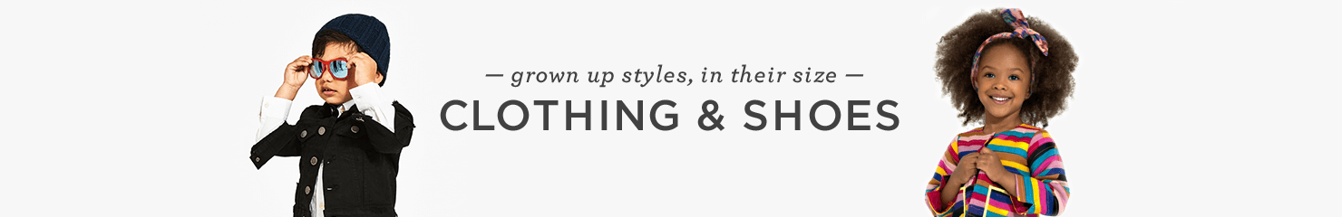 CLOTHING | Grown up style, in their size
