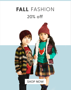 20% Off Fall Fashion