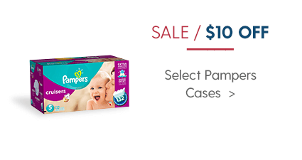 10$ off Pampers Diapers