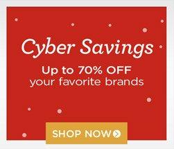 shop all cyber week offers
