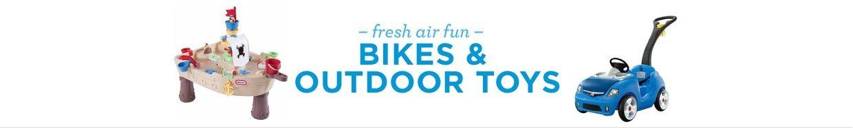 Bikes & Outdoor Toys