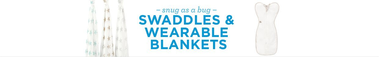 snug as a bug. swaddles and wearable blankets