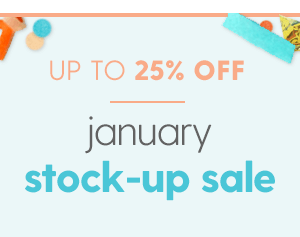 Up to 25% Off Sale