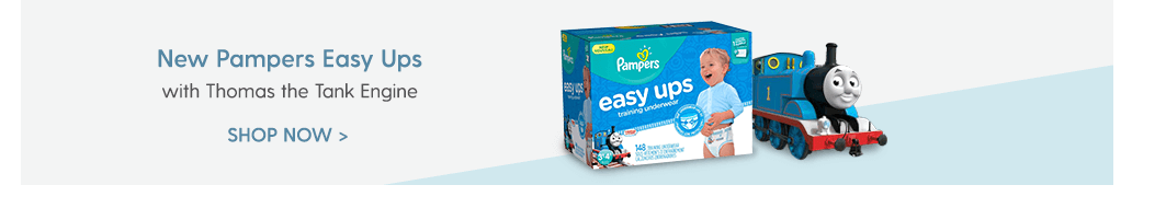 New Pampers Easy Ups - with Thomas the Tank Engine