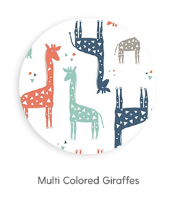 Multi Colored Giraffes