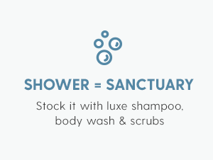Shower = Sanctuary