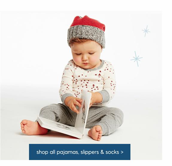 Shop All Pajamas, slippers & socks