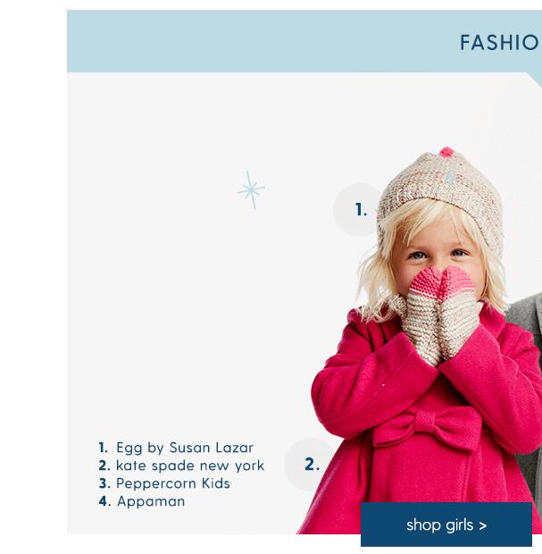 Girls Fashion Coats