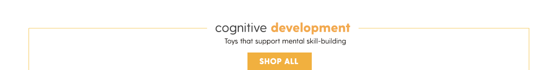 COGNITIVE DEVELOPMENT Toys that support mental skill-building