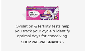 shop pre-pregnancy