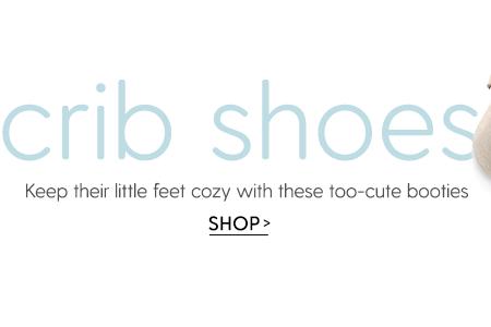 shop all crib shoes