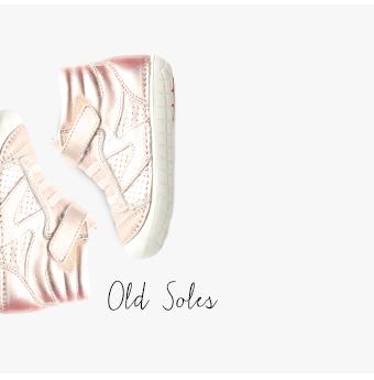 girls sneakers old soles