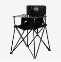 Ciao! Baby Portable Travel High Chair - Black