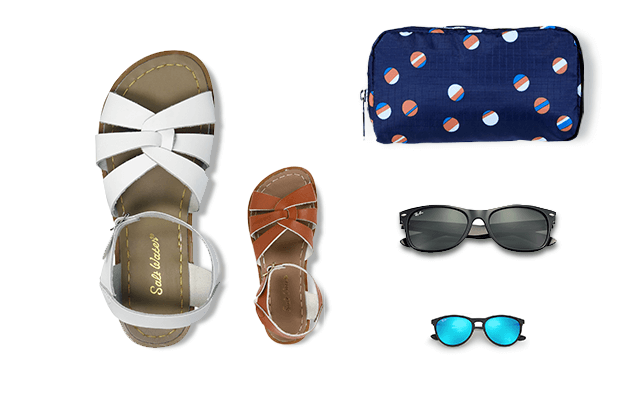 FROM BOAT TO BEACH Everything you need to set sail or hit the shore together