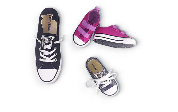 PLAYGROUND-READY SNEAKERS If you want to keep up with them, you'll need a pair, too.