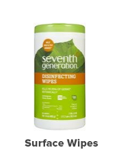 surface wipes