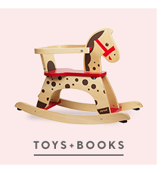 Toys + Books