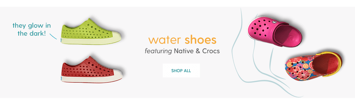 WATER SHOES featuring Native & Crocs Shop All
