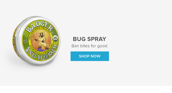 Bug Spray: Ban Bites for good