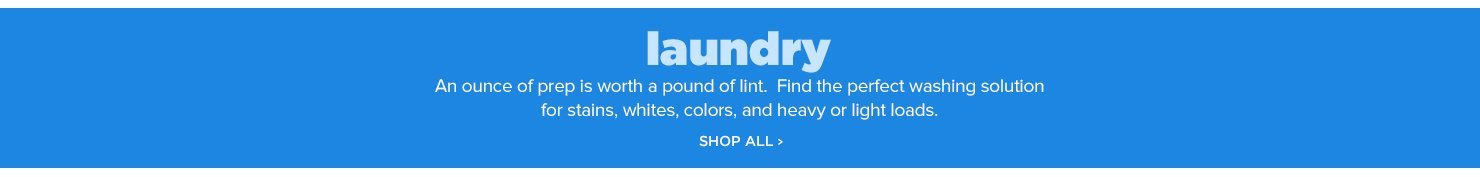 Shop All Laundry