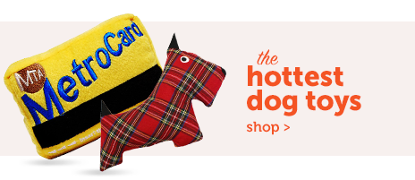 holiday dog toy