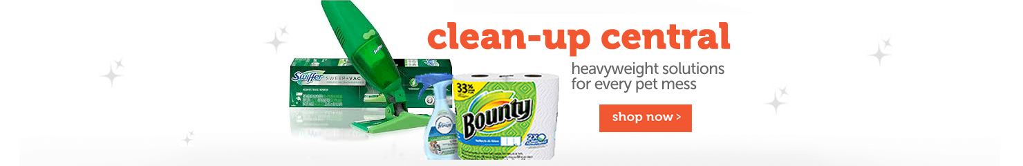 Clean-up central heavyweight solutions for every pet mess