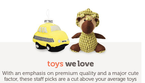 Toys We Love With an emphasis on premium quality and a major cute factor, these staff picks are a cut above your average toys