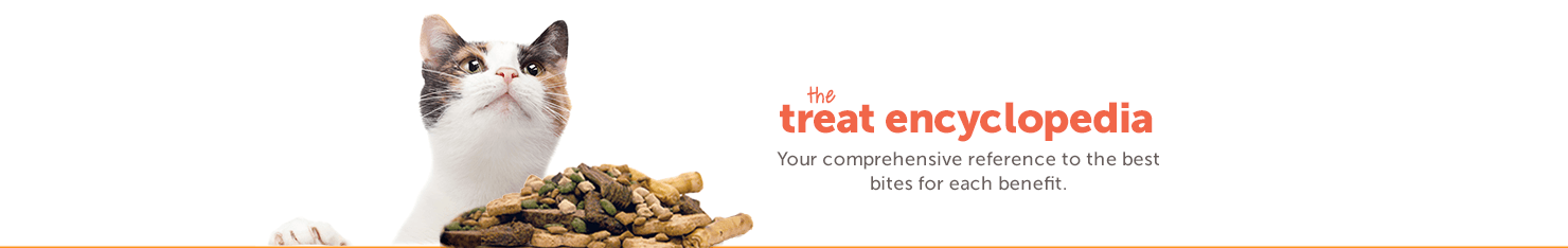 treat encyclopedia Your comprehensive reference to the best bites for each benefit.