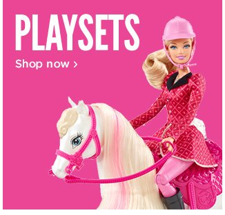 Barbie Playsets