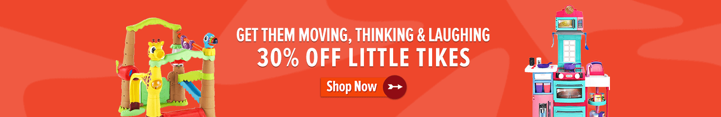 30% off Little Tikes