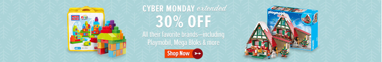 Cyber Monday Extended! 30% off top brands