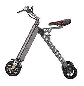 Un triciclo eléctrico es el equivalente de una bicicleta eléctrica, pero con una rueda más.
