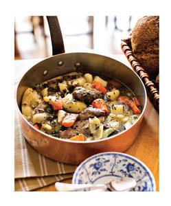 Irish Stew with Piccalilli