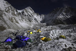 The Call of Everest: Base Camp, Night