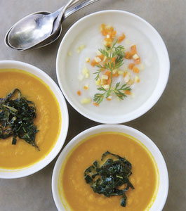 Ivory Carrot Soup