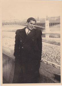 Roland at Lyon Bridge