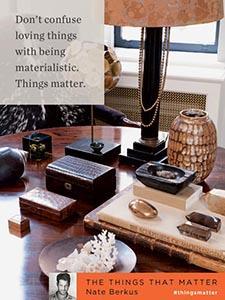 Things matter