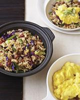 Breakfast Fried Rice with Scrambled Eggs