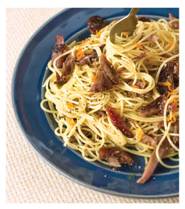 Confit of Duck with Pasta and Lemon