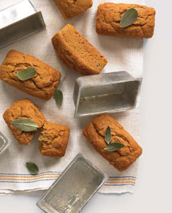 Pumpkin, Sage and Browned-Butter Cakes