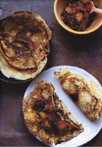 Elderberry and Apple Pancakes