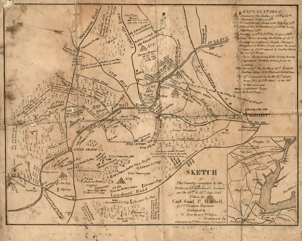 Atlas Of The Civil War A Complete Guide To The Tactics And - Us civil war map geographic image