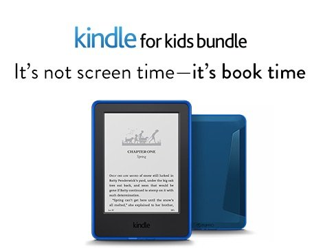 Kindle for Kids Bundle: It's not screen time—it's book time