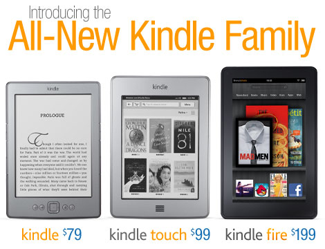 The All-New Kindle, from only xxx